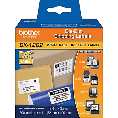 Brother DK1202 Shipping Labels, 4
