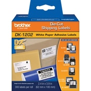 "Brother DK1202 Shipping Labels, 4"" x 2-3/7"""