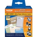 Brother Multipurpose Paper Label (400 Labels)