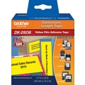 Brother Continuous Length Black/Yellow 2-3/7in. Film Tape