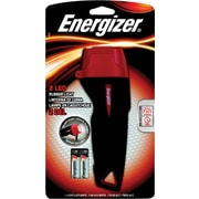 Energizer® 2 AA Large Rubber Flashlight, LED