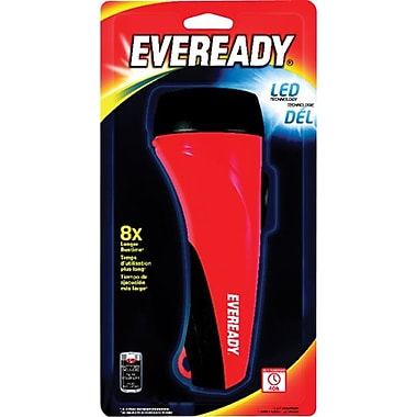 Eveready 2 D Flashlight, LED