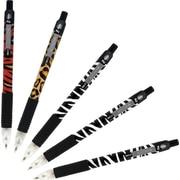 Zebra® Z-Grip™ Animal Retractable Ballpoint Pens, Assorted, 5/Pack