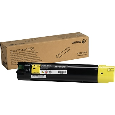Xerox® 106R01505 Yellow Toner Cartridge