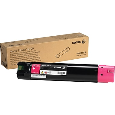 Xerox Phaser 6700 Magenta Toner Cartridge (106R01504)