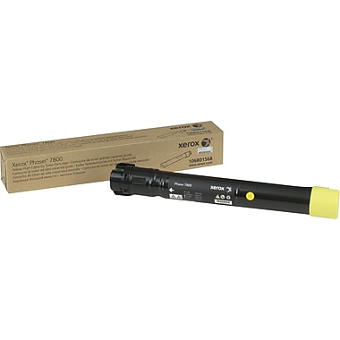 Xerox Phaser 7800 Yellow Toner Cartridge (106R01568),  High Yield