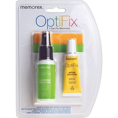 Memorex OptiFix Cleaning Kit