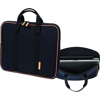 Microsoft Checkpoint Friendly, 17.3in. Laptop Sleeve, Black