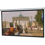Da-Lite Model B 99 Manual Wall and Ceiling Projection Screen, 1:1, Silver Casing