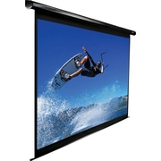 "Elite Screens VMAX2 Series 113"" Mounted Electric Projector Screen, 1:1, Black Casing"