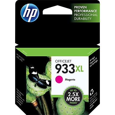 HP 933XL Magenta Ink Cartridge (CN055AN#140), High Yield