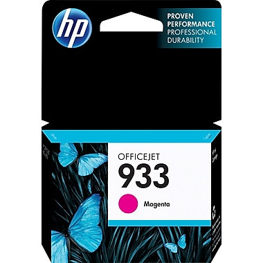 HP 933 Magenta Ink Cartridge, (CN059AN#140)