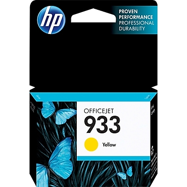 HP 933 Yellow Ink Cartridge, (CN060AN#140)