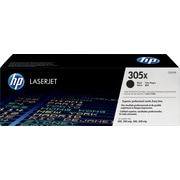 HP 305X Black Toner Cartridge (CE410X), High Yield