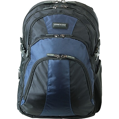 Kenneth Cole Reaction R-Tech Collection, 15.6in. Computer Backpack,  Black/Navy