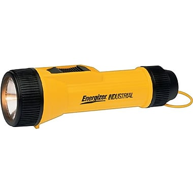 Energizer® 2 D Industrial Heavy Duty Flashlight, Krypton Bulb