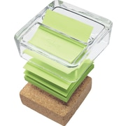 Post-it® Glass/Cork Pop-Up Note Dispenser
