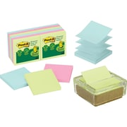 Post-It® Glass and Cork Pop-Up Note Dispenser Value Pack