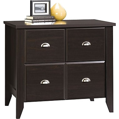 Sauder® Shoal Creek Collection Lateral File, Jamocha Wood