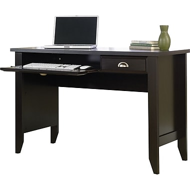 Sauder Shoal Creek Collection Computer Desk, Jamocha Wood