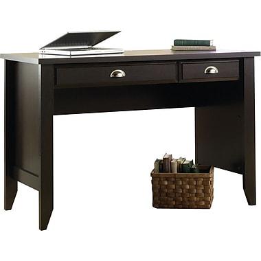 Sauder Shoal Creek Collection Small Desk, Jamocha Wood