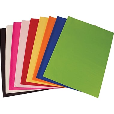 SatinWrap Solid Cerise Tissue Paper Sheets, Size 20in. x 30in.