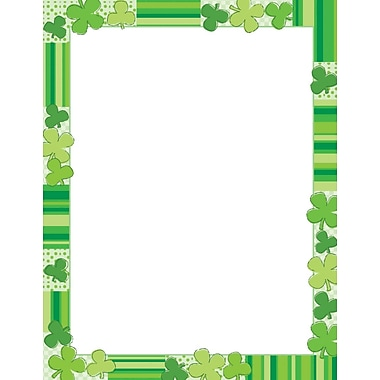 Great Papers® Green Clovers Letterhead