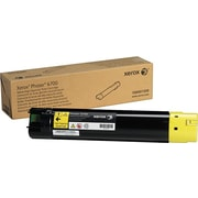 Xerox Phaser 6700 Yellow Toner Cartridge (106R01509), High Yield