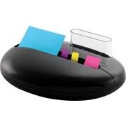 Post-it® Pop-up Pebble Combo Dispenser, Black