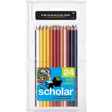 Prismacolor® Scholar Coloured Pencils, 24/Pack