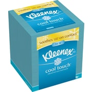 Kleenex® Cool Touch™ Moisturizing Facial Tissues, Assorted Package Design, 3-Ply