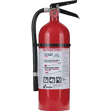Kidde Monoammonium Phosphate Fire Extinguisher, 100 psi