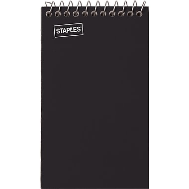 Staples Top Bound Memo Books, 3in. x 5in.
