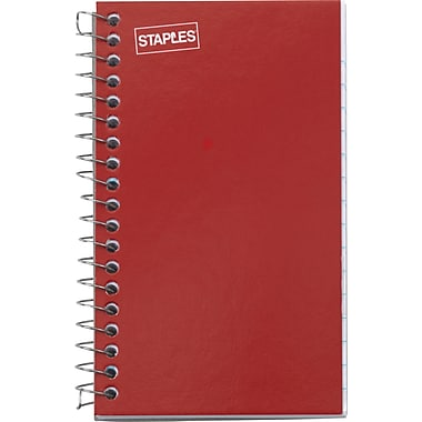 Staples Side Bound Memo Books, 3in. x 5in.