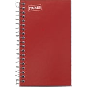 "Staples® Side Bound Memo Books, 3"" x 5"""