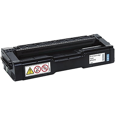 Ricoh Cyan Toner Cartridge (406476), High Yield