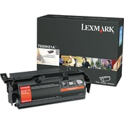 Lexmark™ T650H21A Black Toner Cartridge, High Yield