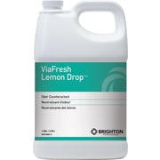 Brighton Professional™ ViaFresh™ Odor Eliminator, Lemon Drop Scent, 1 Gallon, 4/Ct