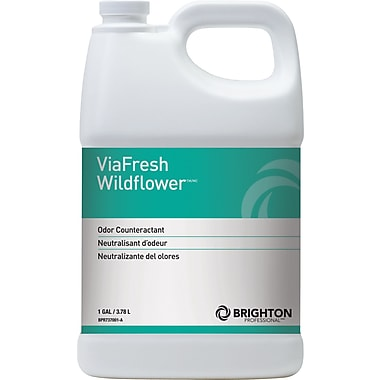 Brighton Professional™ ViaFresh™ Odor Eliminator, Wildflower, 1 Gallon