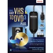 Roxio® Easy VHS to DVD 3 Plus, Bilingual