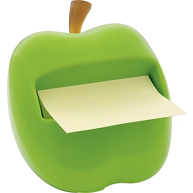 Post-it® Pop-Up Green Apple Dispenser