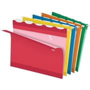 Pendaflex® Ready-Tab® Reinforced Hanging Folders, 5-Tab, Letter, Assorted, 25/Box (42592)