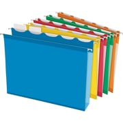"Pendaflex® Ready-Tab® Extra Capacity Reinforced Hanging Folders, 5-Tab, Letter, 2"" Capacity, Assorted, 20/Box (42700)"