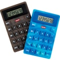 Staples Assorted Color Flexible Calculator