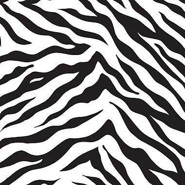 Zebra Stripes Gift Wrap, Size 24in. x 417'
