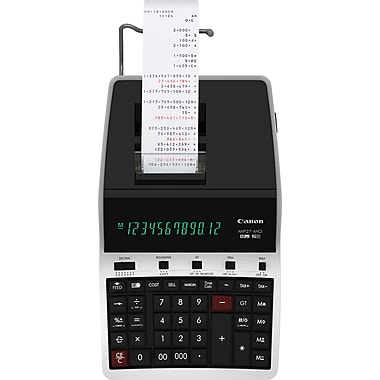 Canon MP27-MG Printing Calculator, Black