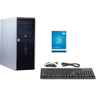 Refurbished HP DC7900, 250GB Hard Drive, 2GB Memory, Intel Core 2 Duo, Win 7 Pro