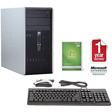 Refurbished HP DC5700, 80GB Hard Drive, 2GB Memory, Intel Pentium, Win 7 Home
