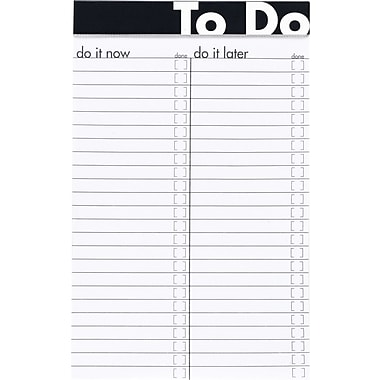Ampad To Do Notepad, 5in. x 8in.