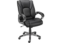 Staples® Siddons Managers Chair, Black